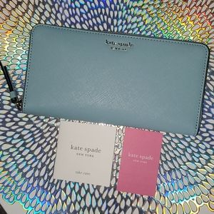 NWT Kate Spade Cameron Large leather Wallet